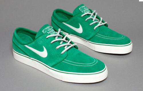 shoe-pornn:  Nike Janoski-Green/White.
