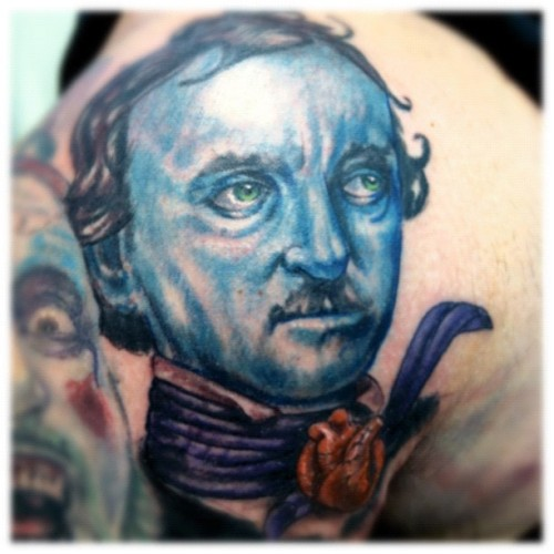 #poe (Taken with Instagram at Progressive Tattoo)