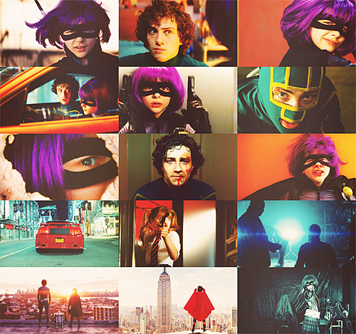 4/100 - Picspams for Favorite Movies: Kick-Ass