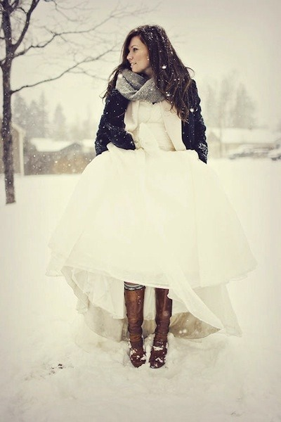 winter wedding!