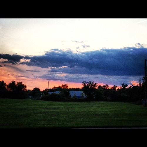 Scenes from Tonight's Run (Taken with instagram)