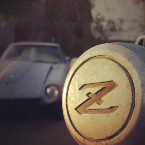 because it's z car.. <3Taken with instagram