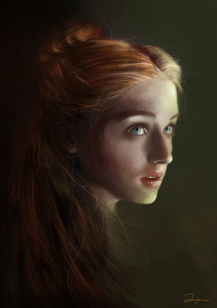 suicideblonde:  Sansa by DalisaAnja