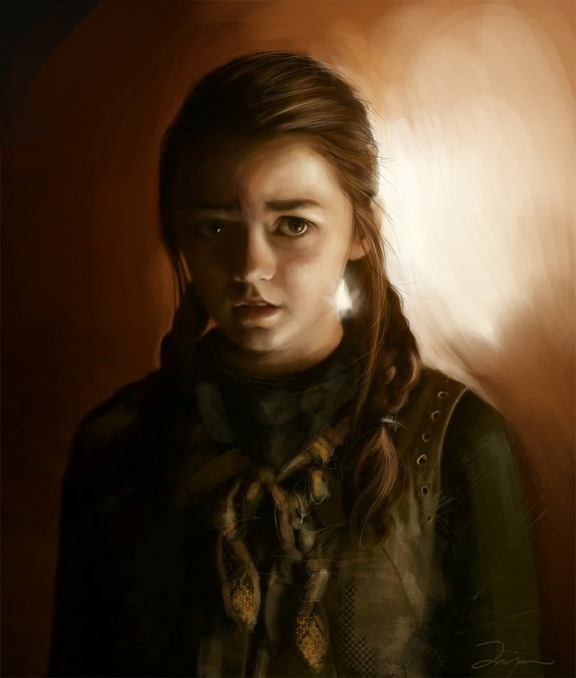 suicideblonde:  Arya by DalisaAnja