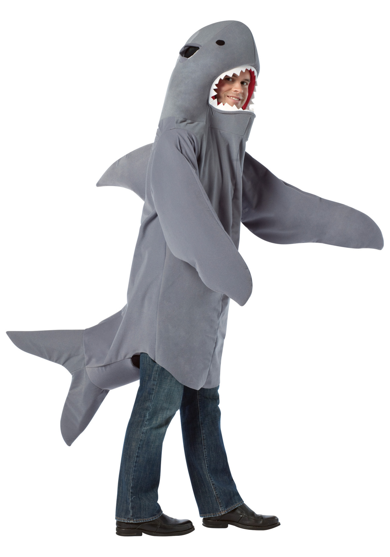 movingsideways:  Every girl's crazy 'bout a shark-dressed man.  Jawsome.