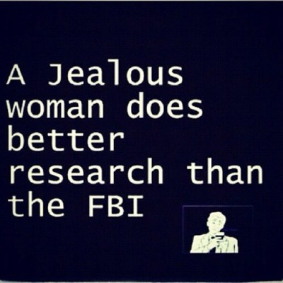 True Story: Jealous Woman #jealous #woman #investigator #fbi #police #investigation #true #truth #life #real #lol #funny #comedy #hilarious #lmao #lmfao #ctfu #dtfl #entertainment #photography #illustration #graphic  (Taken with instagram)