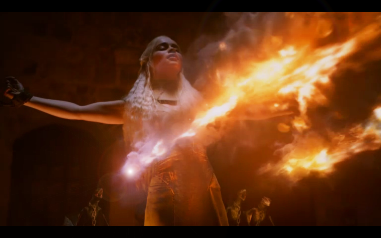 Dracarys! Khaleesi is my sun and stars.