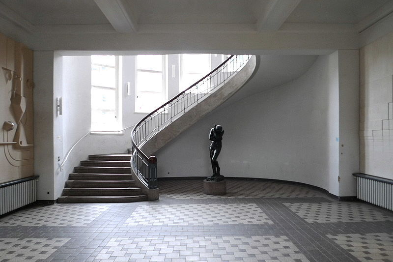 hausfarbentejeira:  Foyer of the Bauhaus-University Weimar