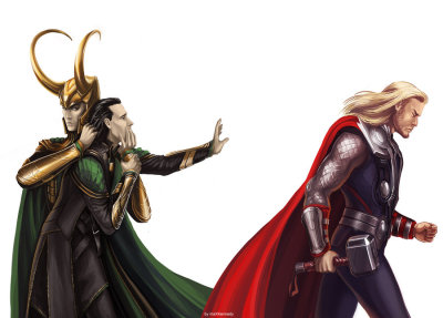 thysilvertongue:  kittenball:  the-loki-army:  cassagram:  The Avengers - Don't go by =maXKennedy Oh my god. The heartbreak.  This is absolutely beautiful. The cold, power-hungry persona Loki created holding back the Loki that just wants the love and affection of his brother. It's the conflict within him, literally drawn out. It's gorgeous, and I want this hanging in my bedroom.  SOBBING  sorry I abuse that gif but it's perfect  I love this for two main reasons. 1] The two sides of Loki are represented, because it's normally one or the other. 2] The fucking pain on Thor's face. Uggggghhhhhhhh.