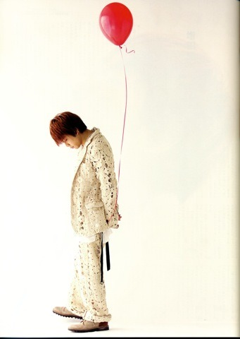 Massu with Red Balloon.