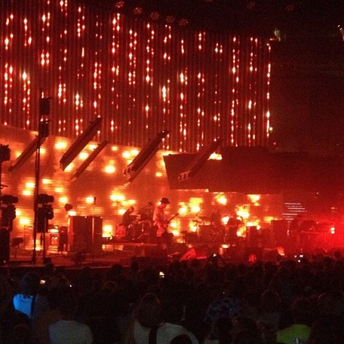 #radiohead  (Taken with Instagram at Verizon Center)