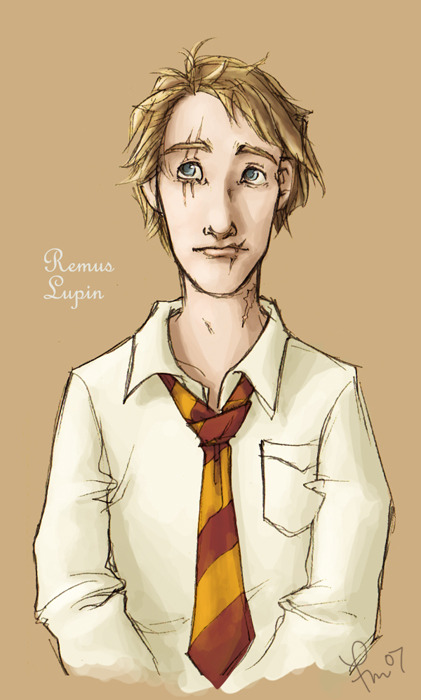 yearbook: remus lupin by *flominowa