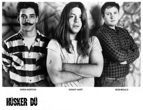 80srecordparty:  Hüsker Dü Press Photo