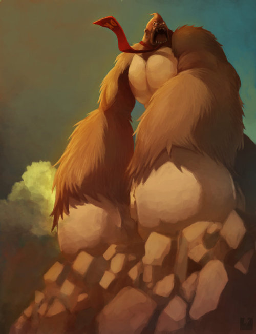 saveroomminibar:  Donkey Kong by Ry-Spirit
