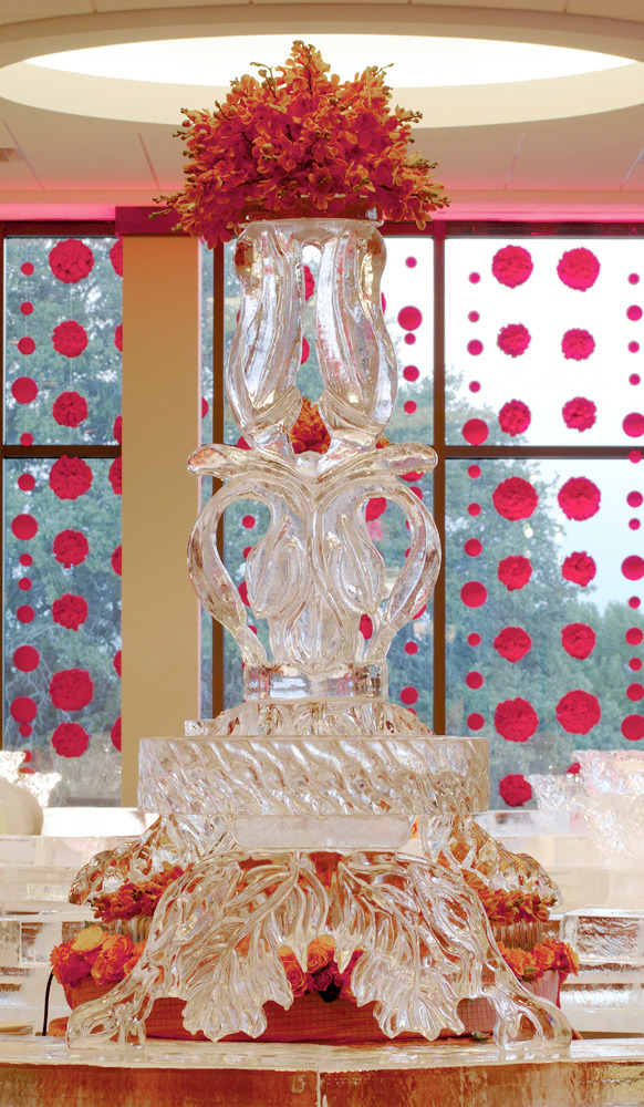 Beautiful Ice sculpture!