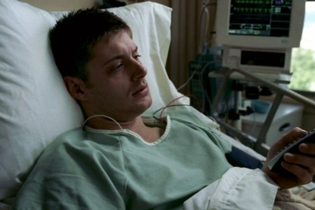 """I'm not gonna die in a hospital where the nurses aren't even hot."" - Dean Winchester"