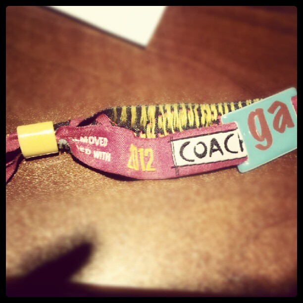 Yeee got that ishhh back #coachella  (Taken with instagram)