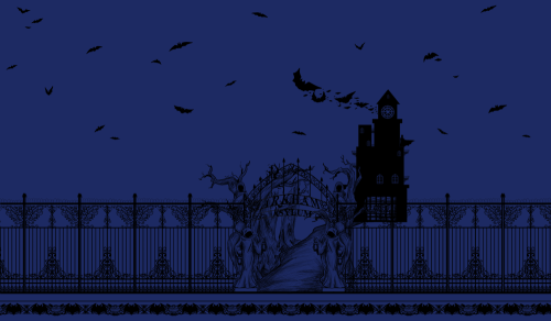 Guess who is finished with their Arkham Asylum gothic gate print? OHOHOHO