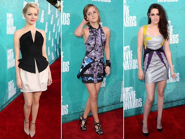 MTV Movie Awards Best Dressed: Young Hollywood Leads The Pack [VH1 Celebrity]