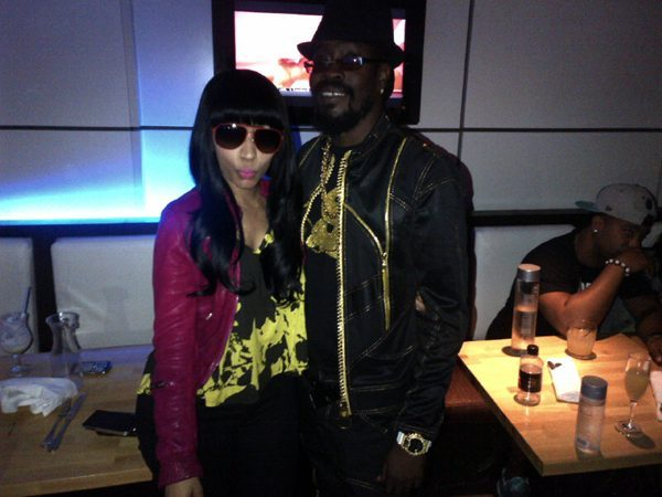 minajxreloaded:  Nicki Minaj and Beenie Man .