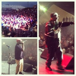 #rootspicnic #BlackThought #Rakim #StageBound #ilovehiphop ❤🎤 (Taken with instagram)