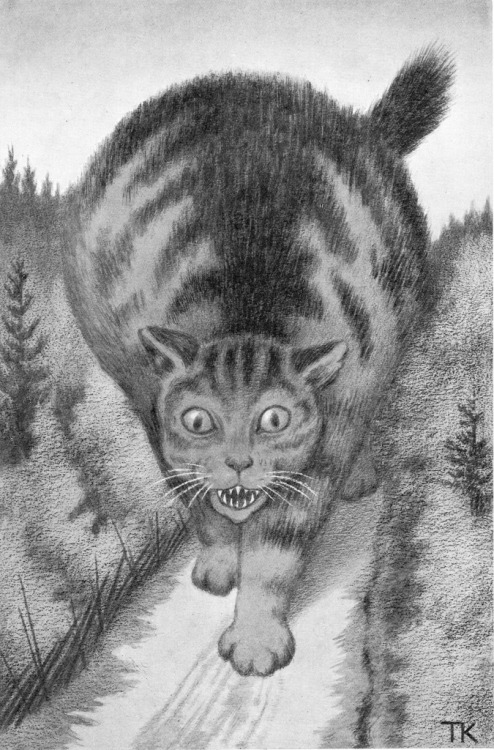 mudwerks:  (via MONSTER BRAINS: Theodor Kittelsen)