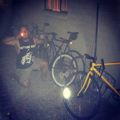 New house is now #fixiefamous  (Taken with instagram)