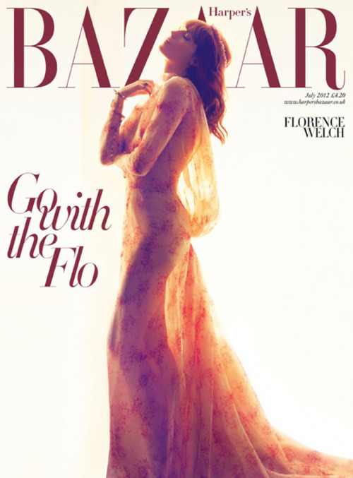 amourir:  Florence Welch by Camilla Akrans for Harper's Bazaar UK June 2012