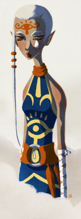 sheikahthings:  Impa by *boum