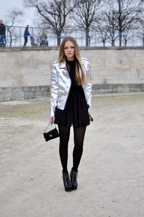 the-streetstyle:  Laura Hayden, Paris Fashion Week