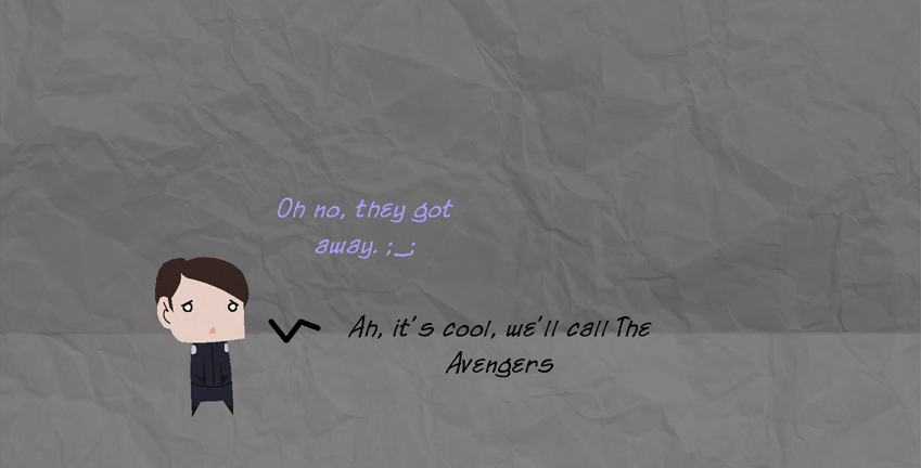 Adoravengers Scene One, part 2
