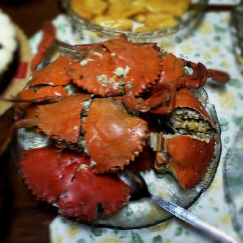 One of my faves! #crab #seafood #food #goodilicious (Taken with instagram)