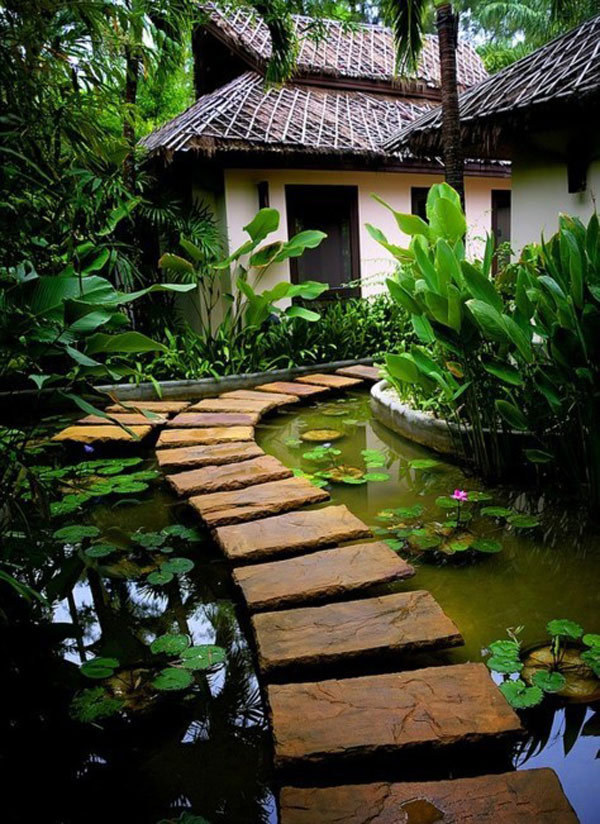 homedesigning:  Lovely Pathways for a Well-Organized Home and Garden