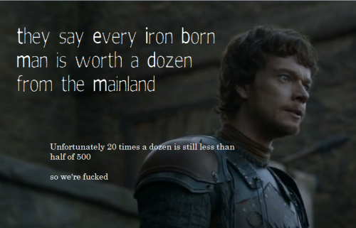 tangmere:  nice work, Theon