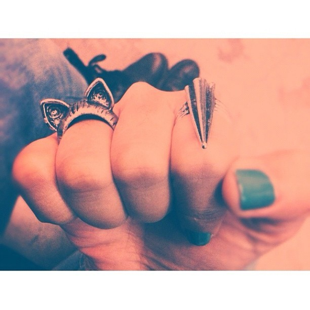 ear-#ring?  (Taken with instagram)