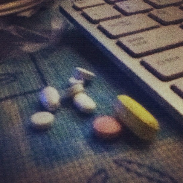 The pills i take. Day and night. #kidneyproblems  (Taken with instagram)