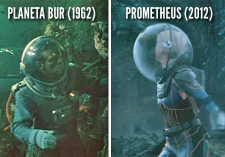 Prometheus riding high on the very edge of modern design…or not. At least they've modernized the soviet design in fifty years a bit.