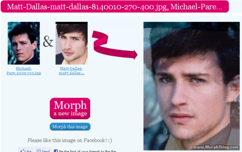 the very first actor i chose from the time i created Kyle XDDD (Matt Dallas) And i had chose matt dallas from 5 years ago :-? from time i watch TV series XDDD seems they very fits in morph XDD