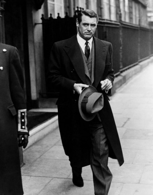 Cary Grant. Sorry. Headache and a cold and probably still sleeping.