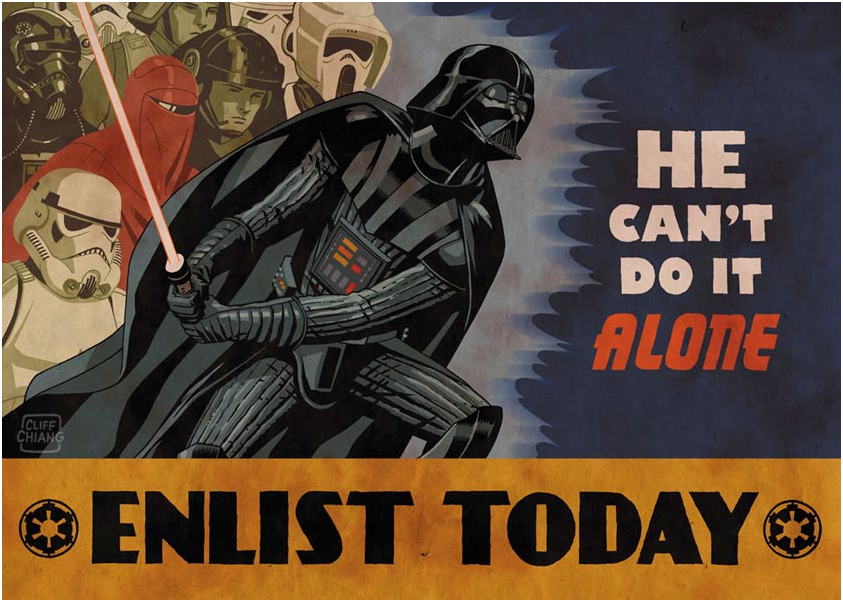 Quoted from: Prose Before Hos 2: Incredible Star Wars Propaganda Posters