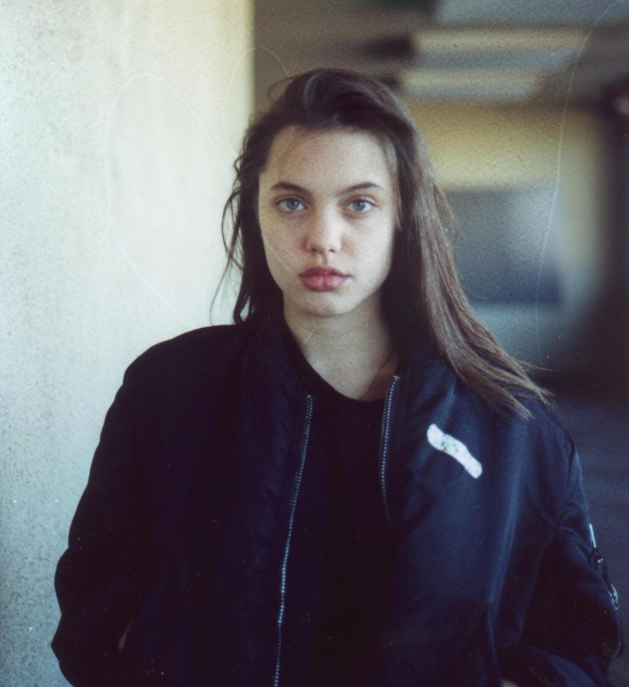 Angelina Jolie in 1990