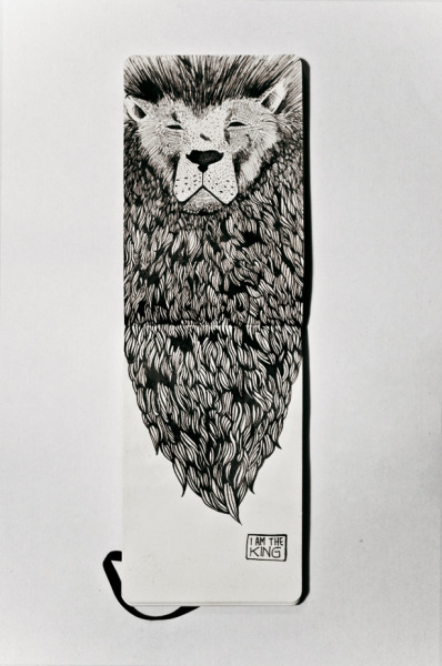 "fuckyeahmoleskines:  ""The King"" by Chiara Dal Maso http://piccsy.com/2012/05/the-king-56fk95zqf/"