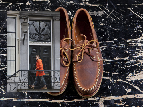 Tenue de Nîmes loves Red Wing hand-sewn (Look 4)