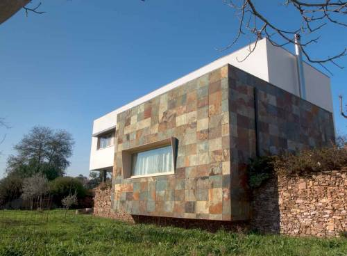 Revestimientos para fachadas de piedra natural Flexone Coating facades with Flextone natural stone