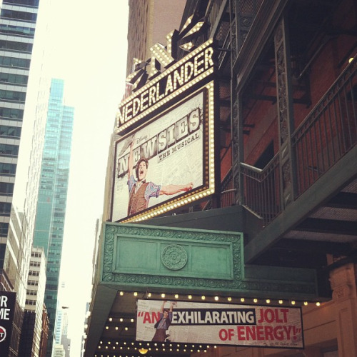 Newsies at the Nederlander!
