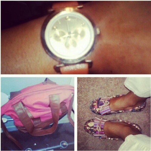 Today's kicks. #Wristgame. Attire. #ALDO #STEVEMADDEN  (Taken with instagram)