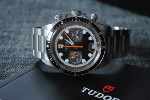 watchesanddesign:  Tudor Heritage Chrono Watch of choice for Mr Mission Impossible; Ethan Hunt in the MI4 movie, Ghost Protocol. Cool!