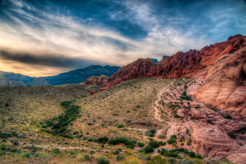 Red Rock Canyon (by Guerrewhoa)