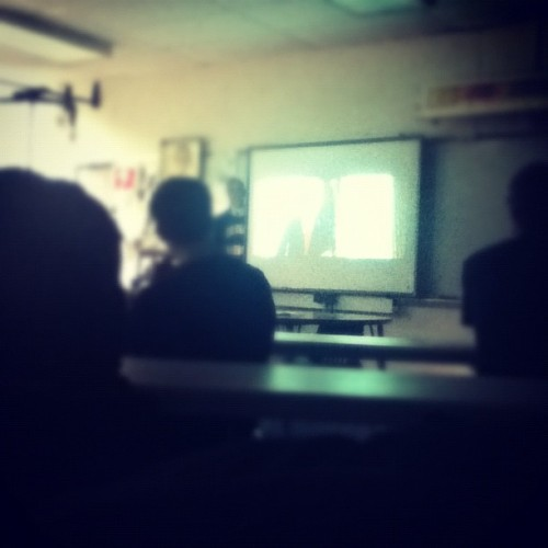 Watching W. in government   (Taken with instagram)