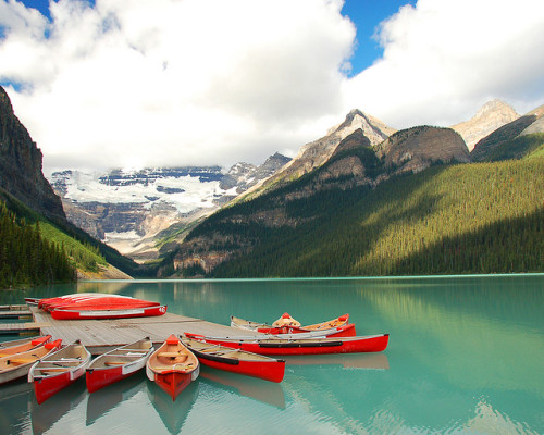 Lake Louise - Banff by Devonaire Eye on Flickr.Banff National Park, Alberta, Canada